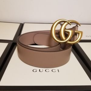 Gucci Dusty Pink Leather